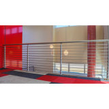 Steel Handrail를 가진 호텔 Corridor Safety Fence Stainless Steel Railing