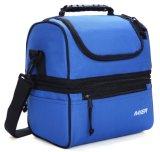 Обед Обед изоляцией голубого цвета большие сумки женская сумка с охладителя