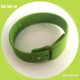 Wristband del silicio Wrs27 para insertar la tarjeta de SIM, tarjeta de RFID (GYRFID)