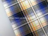 Il filo di cotone ha tinto il tessuto dell'assegno della ratiera del Seersucker - Lz6989