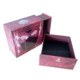 Caixa relativa à promoção da gaveta Handmade por atacado do chocolate para o Natal