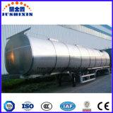 Petroleiro do reboque do combustível/gasolina/gasolina/petróleo da liga de alumínio/LPG para o armazenamento