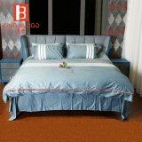 Cama tamaño King con cama de la hoja de estilo europeo con muebles de dormitorio