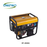 Uso elettrico della casa del generatore della benzina del collegare di rame di Bt-6500A 13HP 5kw