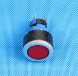 22мм светится водонепроницаемый пластиковый кнопочный переключатель питания