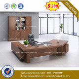 メラミンHPL木のコンピュータの家具のホーム執行部表の机(HX-8NE018)