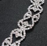 Bandeau en cristal de bande de cheveu de mariée de mariage de vente chaude d'OEM