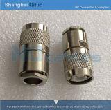 Gerader männlicher Stecker des HF-Verbinder-TNC (TNC-J13)