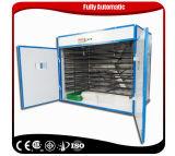 Incubateur commercial automatique approuvé de Digitals d'établissement d'incubation d'oeufs de poulet de la CE