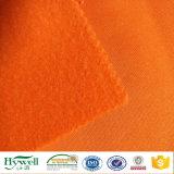 Orange Sweatshirt-Vlies-Gewebe für Hoodie