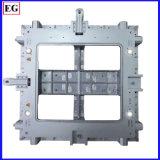 280 la tonelada moldeado a presión hace más de las piezas de la bandeja de patrón Traingle