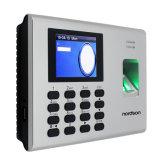 Контроль допуска фингерпринта карточки батареи RFID Reprot самообслуживания Built-in с посещаемостью времени