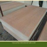 Het Rode Triplex van de Rang van het meubilair met het Gezicht van het Vernisje van het Hardhout