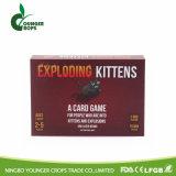 Kitty juego de cartas de papel