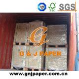 Vierge la pâte de bois couleur offset 48 GSM pour la vente de papier