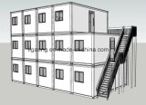 De Slaapzaal van de Rekupereerbare Snelle Arbeider van de Installatie van de Prijs van de fabriek/Tijdelijke Woonplaats/Tijdelijk Bureau