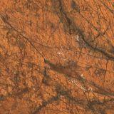 De goedkope Tegel van het Porselein van de Prijs Bruine Marmeren Bevloering Opgepoetste van Foshan