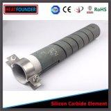 Elemento de aquecimento dobro do carboneto do calefator/silicone da fornalha da espiral SIC