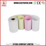 70gsm papel de recibo del rollo de papel autocopiativo