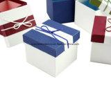 Rectángulo de regalo de la joyería del papel hecho a mano/rectángulo de regalo de empaquetado de la joyería del papel