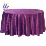 상보 아름다운 디자인 우아한 테이블 피복 주자 결혼식 훈장 호박단 테이블 피복
