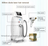 Laser vertical de la diode 808nm pour l'épilation et le rajeunissement de peau