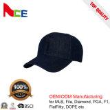 OEM de promoción de la moda Denim Jeans bordados gorra de béisbol con cremallera
