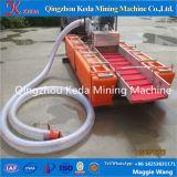 金の回復に使用する小型スケールの金の鉱石の浚渫船