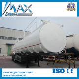 半工場高品質オイルの輸送の燃料のタンカーのトレーラートレーラー45000リットルの燃料タンクの