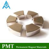 Магнит неодимия дуги N40m R47xr37X5.1 с материалом NdFeB магнитным