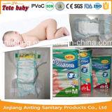 Produtos superiores do bebê dos tecidos da qualidade macios e manufatura descartável seca dos tecidos do bebê de Clothlike