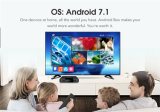 Le cadre Tx3 de l'androïde 7.1 TV de ROM du RAM 16GB du faisceau 1/2GB de quarte d'Amlogic le meilleur marché S905W d'arrivée neuve mini