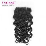 Trama del pelo rizado del pelo de la Virgen del ser humano de Yvonne el 100%