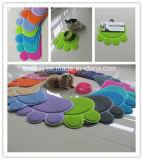 Couvre-tapis de garniture d'animal familier de couvre-tapis de litière du chat de PVC