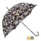 مستقيمة مظلة خطّاف [بوش-بوتّوم] مقبض مع, طويلة مقبض هبة مظلة, [سون] ومطر مظلة