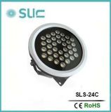 24W impermeabilizan el proyector del LED para el paisaje (SLS-24B)