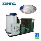 Automação de flocos de resfriado a água da máquina Máquina de gelo