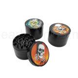 Nouvelle couleur tabac sec de la tête du crâne Herb meuleuse (ES-GD-036)