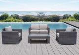 4PCS屋外の藤のホームホテルのオフィスの柳細工のテラスのネリーのラウンジの庭のソファー(J650)