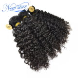 熱い販売の最もよい品質のインドのねじれたカール100%の人間の毛髪の束