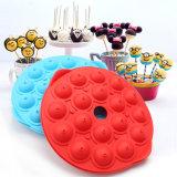 La cuisson moule silicone moule à cake Pop, des bonbons durs 3D, Lollipop moule silicone et de la partie avec des bâtons outil Cupcake gâteau