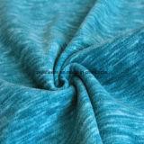 陽イオンの印刷の効果のマイクロ羊毛、ジャケットファブリック(springgreen)