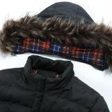 方法長い様式によってカスタマイズされる冬の人のコート卸しで