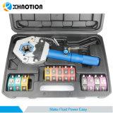 A/C Xhnotion flexible ensemble de l'outil de la pince à sertir hydraulique manuel
