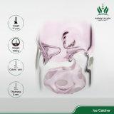 17 Zoll rosafarbener Pilz Perc gerade Huka-Rohr-/grosse Glaspfeife/Glaswasser-Rohr