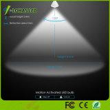 Lumière de nuit activée par mouvement du détecteur de mouvement du jour 5000K de l'ampoule Br30 de l'éclairage LED 12W DEL