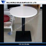 Marbre artificiel longue table à manger blanc 10 places d'un bureau sous forme de buffet