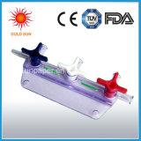 Moulage à trois voies de robinet pour l'usage médical, robinet de Medcal