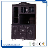 絶妙な台所家具4つのドアPVC表面の台所食器棚