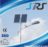Luz de rua solar pura do branco 30W com luz do diodo emissor de luz